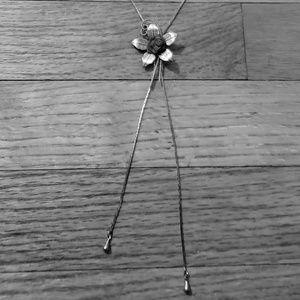 Antique slider necklace